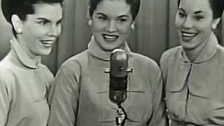 The McGuire Sisters win Godfrey's Talent Scouts, Dec. 1, 1952.