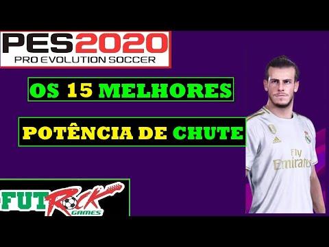 PES 2020 - OS 15 JOGADORES QUE CHUTAM MAIS FORTE - 동영상