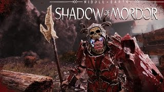 The Strongest Warchief In Mordor - Middle Earth Shadow Of Mordor (PC Gameplay)