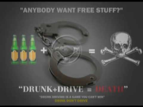 'Don't Drink & Drive' Public Service Announcements for Bangkok broadcasting course