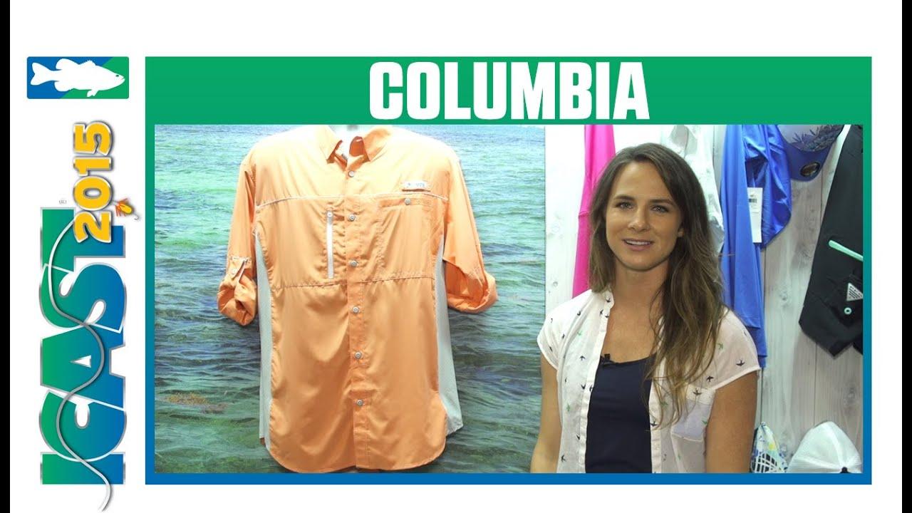 c0d4a9068fc Columbia Solar Drag Zero & Castaway Zero Long Sleeve Shirts   ICAST 2015