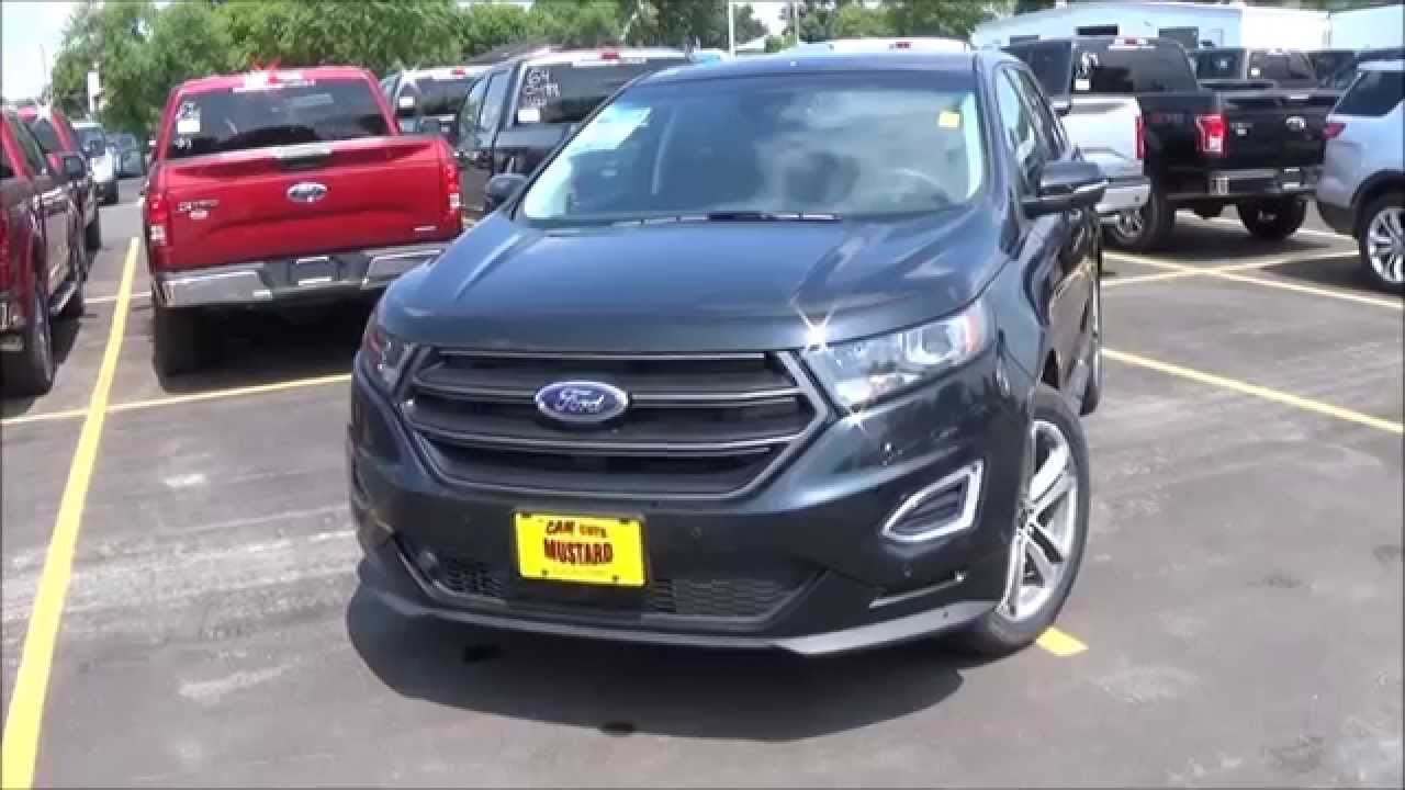 2015 ford edge sport review youtube. Black Bedroom Furniture Sets. Home Design Ideas