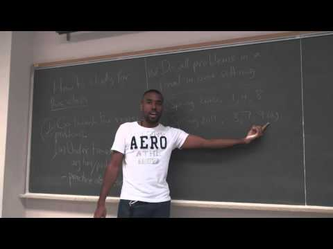 Math 203 Lecture 18 - Study tips, advice and Absolute Max and Min of multivariable functions
