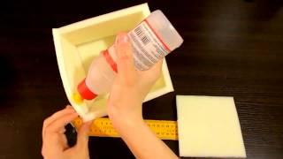 Кубики из поролона для кубик-шоу своими руками