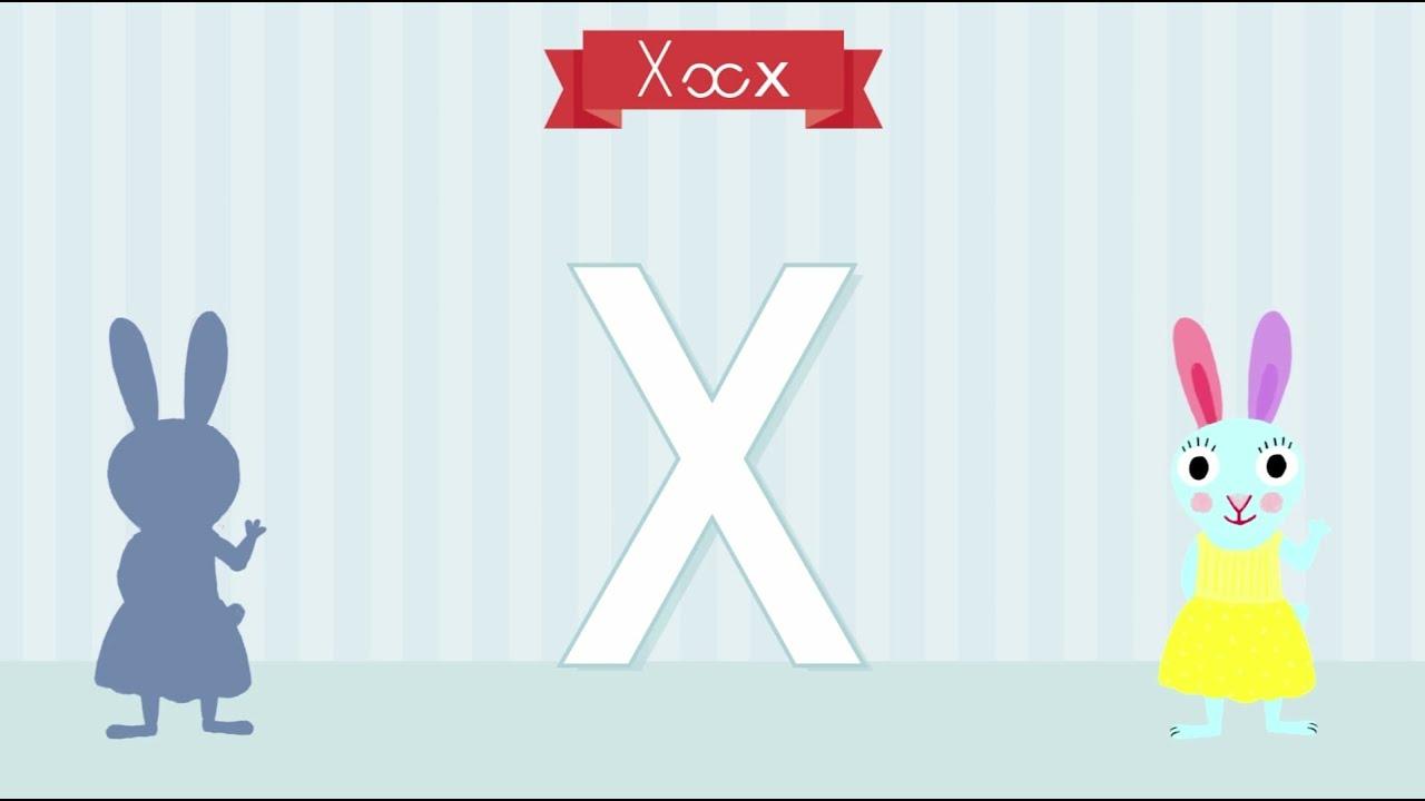 Download Les lettres de l'alphabet - Apprendre à écrire le X avec Pinpin et Lili