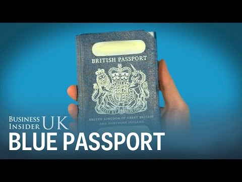 This Is What A British Passport Could Look Like After Brexit