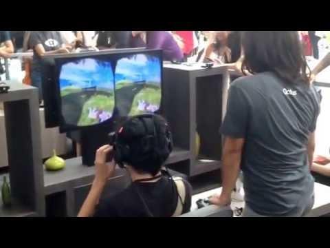 Oculus Sword Art Online Gaming Bandai Anime Expo 2014