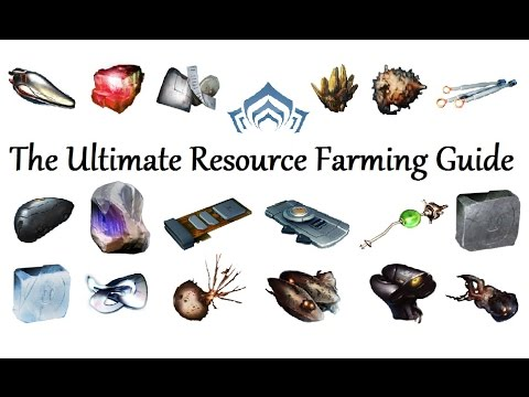 Warframe - The Ultimate Resource Farming Guide (2016) (Pre ...