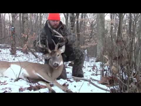 Indiana Buck Down With Realtree 44 Pistol