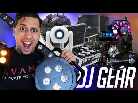 DJ GEAR: Complete Tour Of All Of My DJ Equipment (Speakers, Lights, Mics, Effects)
