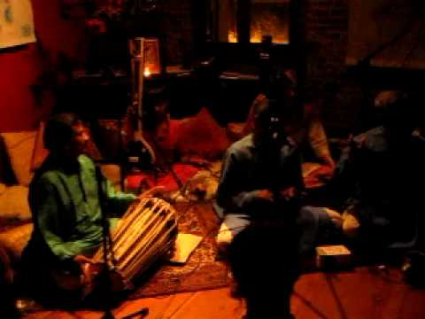 The Gundecha Brothers playing Raag Durga  live @ Shuniaa Yoga, Nevada City, CA