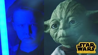 Star Wars Legendary Yoda The Force Awakens Toy for Kids Review by Kinder Playtime