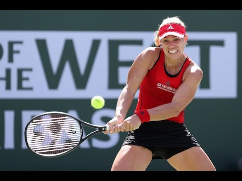 BNP Paribas Open 2018: Angelique Kerber vs. Elena Vesnina | Highlights
