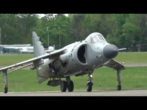 Art Nalls - FA-2 Sea Harrier - Manassas Airshow 2016