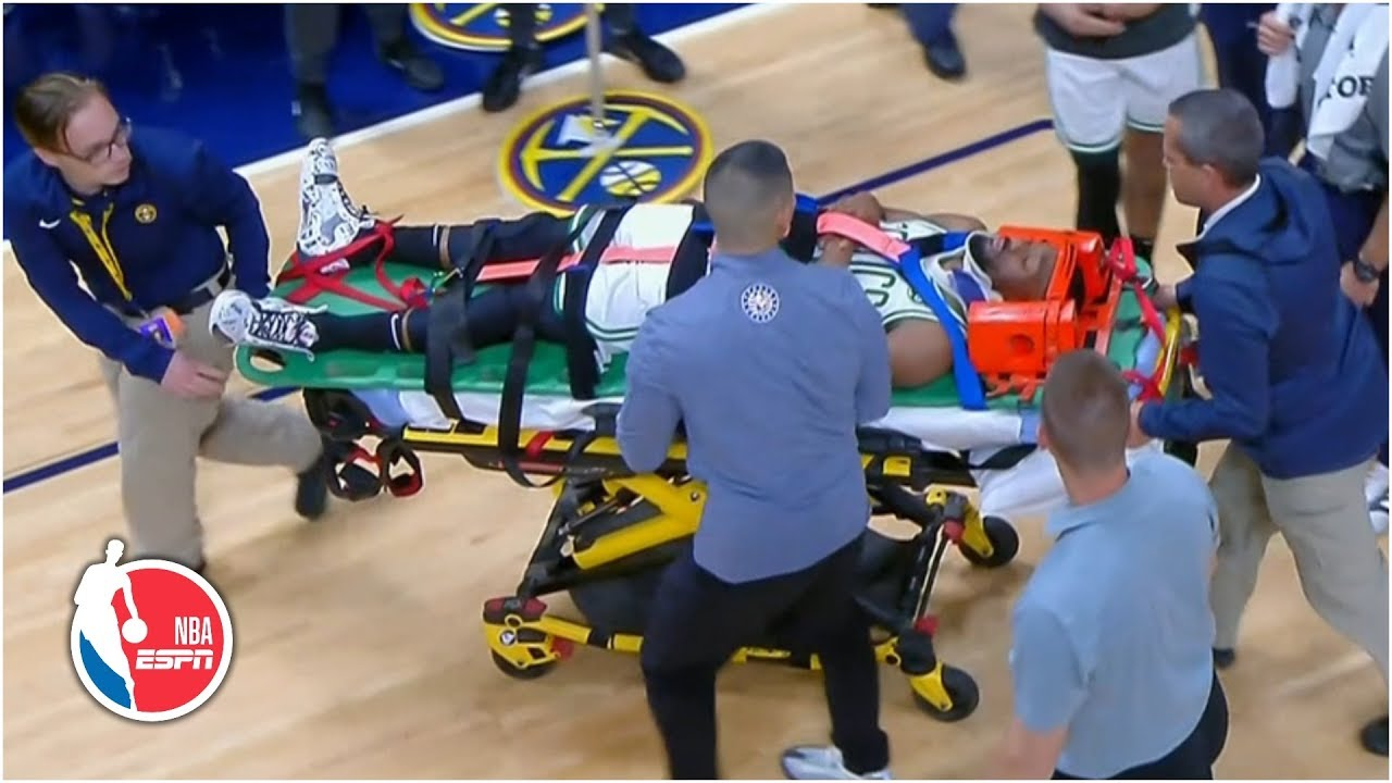 Celtics' Kemba Walker Stretchered off vs. Nuggets After Suffering ...