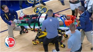 kemba-walker-suffers-apparent-neck-injury-nuggets-leaves-stretcher-nba-espn