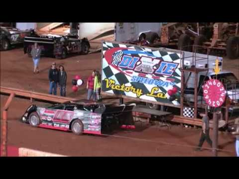 Dixie Speedway 9/12/15 Crate Late Model Heats and Feature!