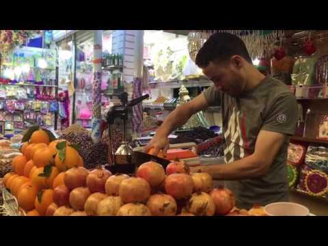 Moroccos fresh  juice in agadir