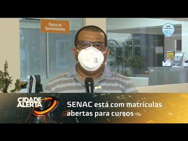SENAC está com matrículas abertas para cursos na área de tecnologia