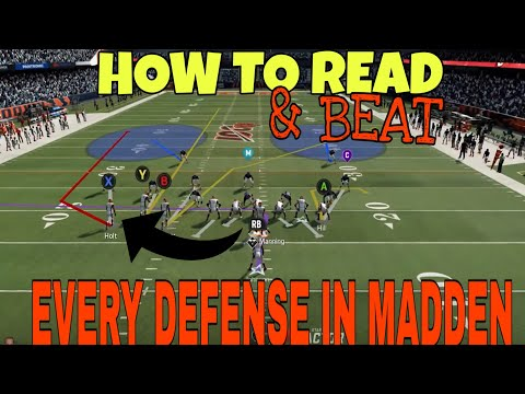 How 2 Read & BEAT EVERY DEFENSE! Money Plays, Hot Routes & More VS Every Man or Zone in Madden 20
