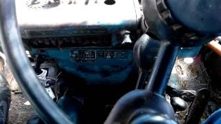 Урок вождения, для чайников. МТЗ-82