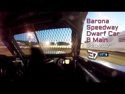 Barona Speedway Dwarf Cars • B Main 5-20-2017 GoPro