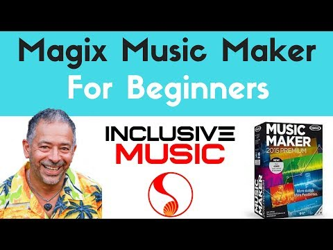 How To Make A Song In Magix Music Maker Intro - Magix Guide