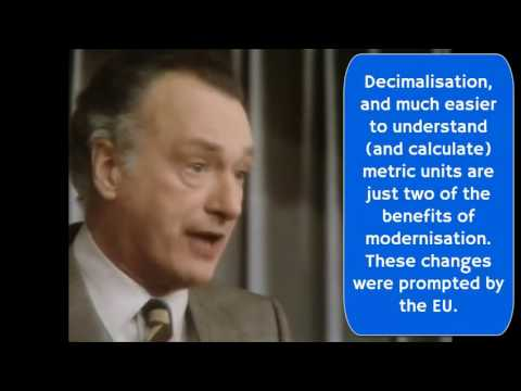 Eurosausage - Yes Minister and Brexit