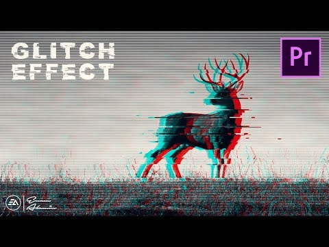 How To Make GLITCH EFFECT In Premiere Pro Tutorial (2019)