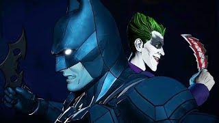 The Time Joker Saved Batman + They Fight Bane (Telltale Series)