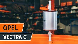 Návod: Ako vymeniť palivový filter na OPEL VECTRA C