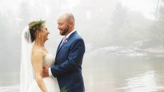 Upper Peninsula Wedding Videography at Presque Isle Park, Ore Dock Brewing Co. | Briana + Steffen