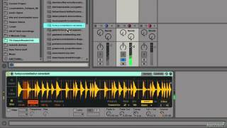 Ableton Live 9 306: 10 Killer Simpler Sampler Tips - 5. Swapping Sliced Samples