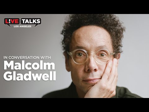 Malcolm Gladwell on Season 5 of Revisionist History at Live Talks Los Angeles