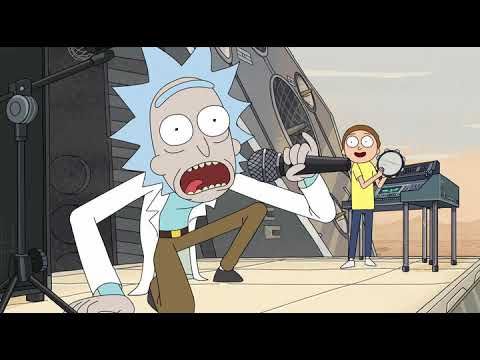 Rick and Morty Рик и Морти давай швифтанемся