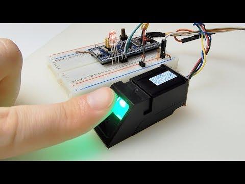 Датчик отпечатков пальцев ZFM60XSA