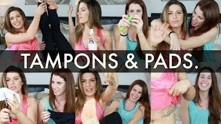 TAMPONS AND PADS | NOT JUST FOR PERIODS!