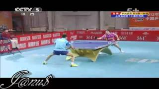 2012 China Super League: WANG Liqin - CUI Qinglei [Full Match/Short Form]