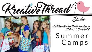 We have Summer Sewing Camps!