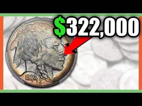 $322,000 BUFFALO NICKEL!! RARE BUFFALO NICKELS WORTH MONEY!!