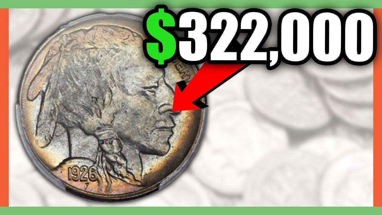 buffalo nickel error coins