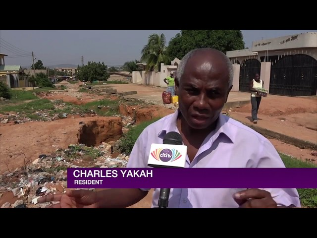 Road turning into death trap at Ofankor
