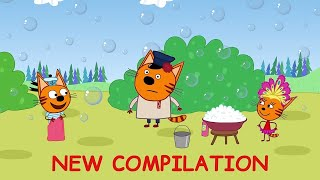 Kid-E-Cats   Funny Episodes Compilation   Best cartoons for Kids 2021