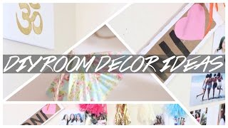 DIY Room Decor ♥️ | Tumblr, Pinterest & Brandy Melville inspired ♥️