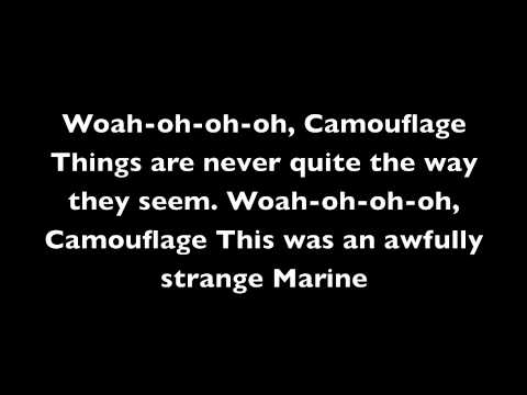 Stan Ridgway- Camouflage Lyrics from YouTube · Duration:  5 minutes