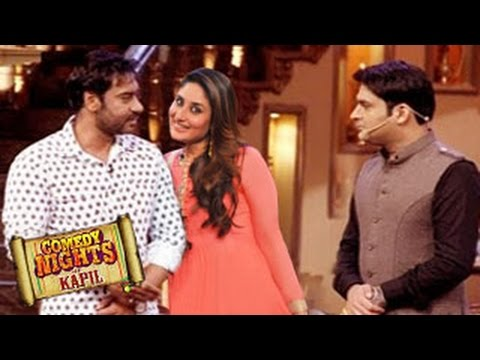 Ajay Devgn & Kena Kapoor on Comedy Nights with Kapil 2nd August ...