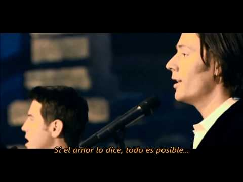 IL DIVO  Se que puedo Volar I Believe I Can Fly with Lyrics