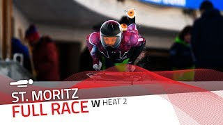 St. Moritz | BMW IBSF World Cup 2019/2020 - Women's Skeleton Heat 2 | IBSF Official