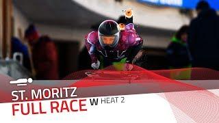 St. Moritz | BMW IBSF World Cup 2019/2020 - Women's Skeleton Heat 2 | IBSF Official