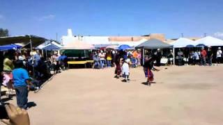 Hopi Buffalo Dance at Kewa (Santo Domingo) Pueblo, NM